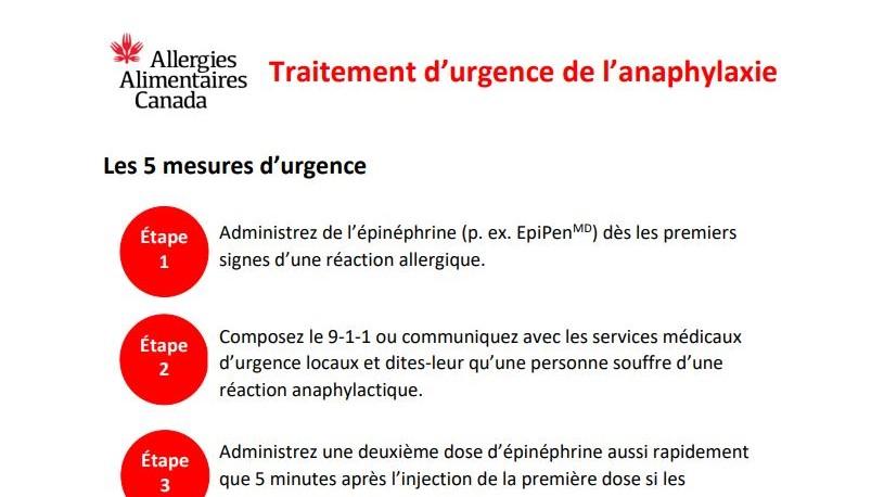 Image du document 5 mesures d'urgence