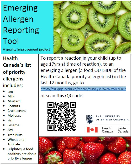 Emerging Allergy Reporting Tool poster