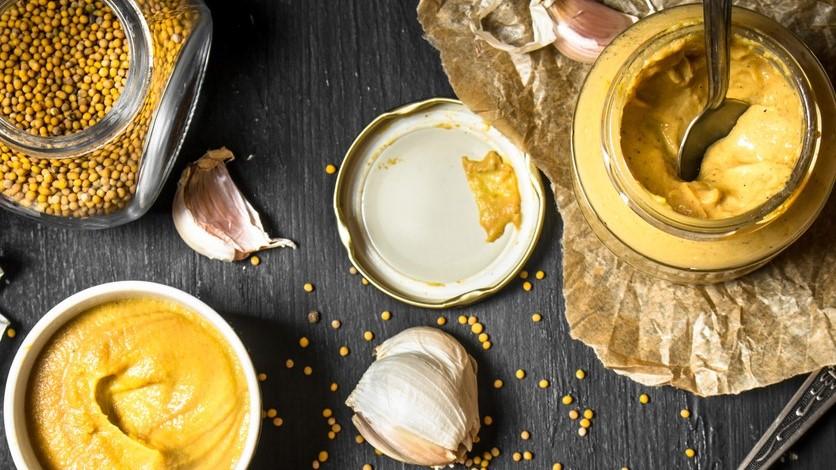 Ingrédients de moutarde
