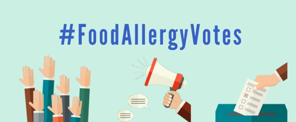 #FoodAllergyVotes