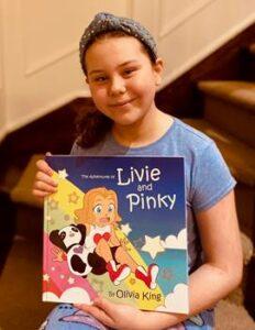 Olivia King et son livre