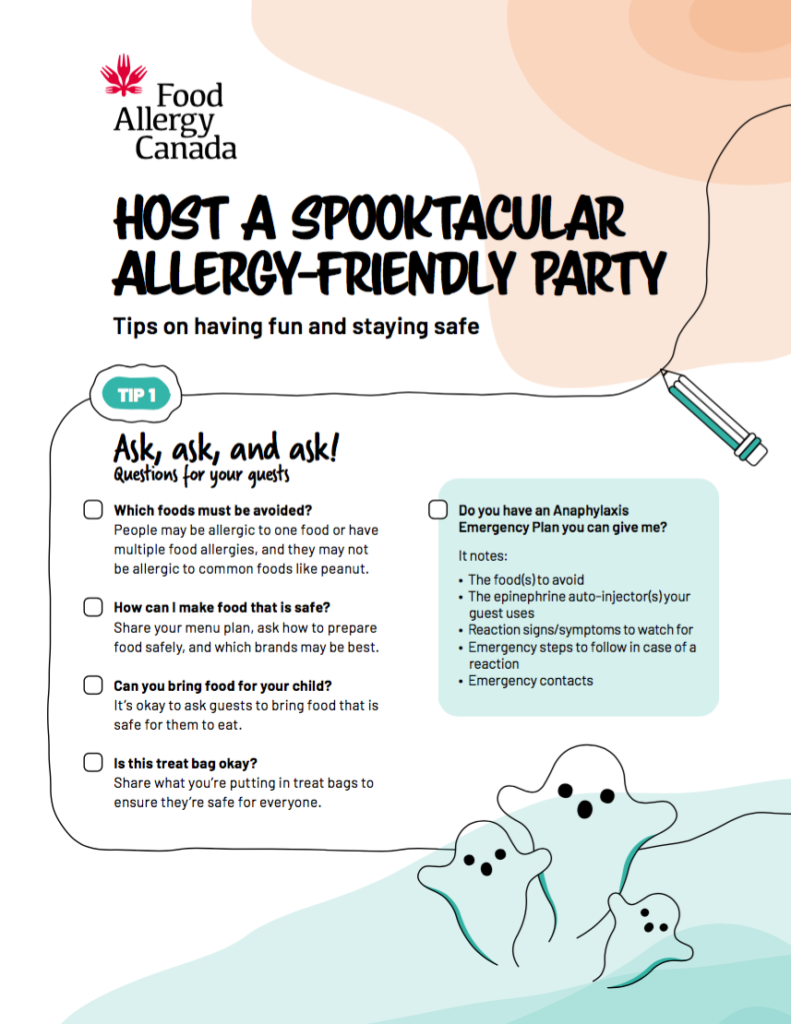 Tip sheet for party hosts