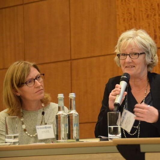 Jennifer Gerdts, notre directrice générale, lors d'un congès.
